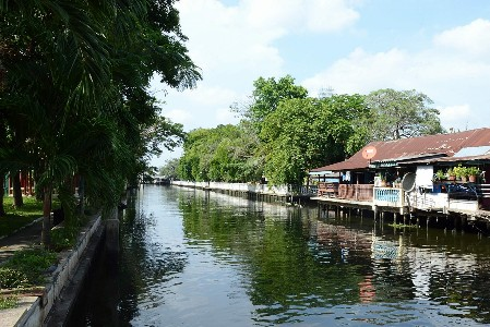 Klongs in Bangkok